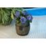 Kép 2/2 - Virágláda hordó mintázatú, 35x34 cm